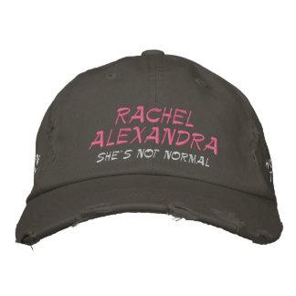 Rachel Alexandra She's Not Normal HOY Hat (Pink)
