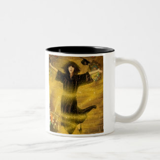 Rachel Aloft! Two-Tone Coffee Mug