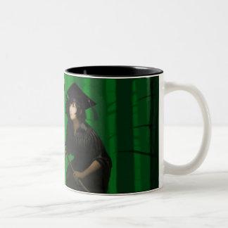 Rachel and the Angel Two-Tone Coffee Mug