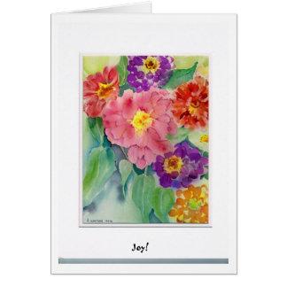 Rachel's Zinnia's Card