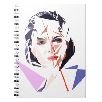 Rachida Dati Spiral Notebook