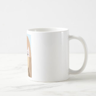 Racial race vector Diversity Basic White Mug