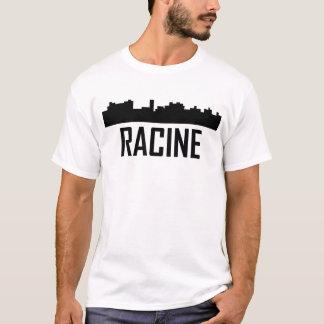 Racine Wisconsin City Skyline T-Shirt