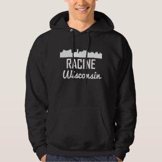 Racine Wisconsin Skyline Hoodie