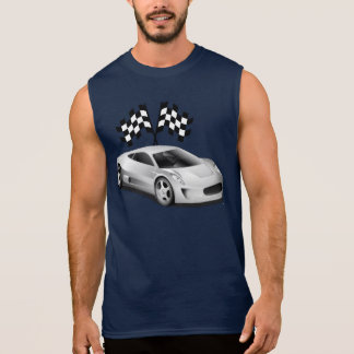 Racing and Sports Cars Sleeveless Shirt