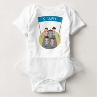 Racing Baby Bodysuit