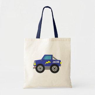 Racing Blue Monster Truck, for Boys