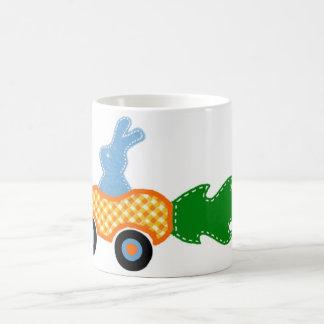Racing Bunny Coffee Mug