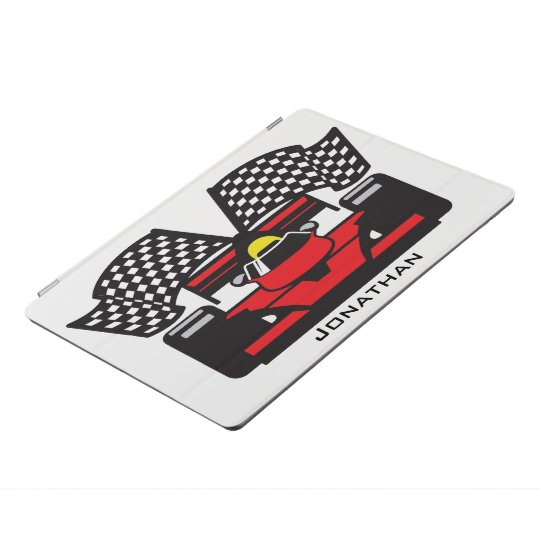 Racing Car Design iPad Cover
