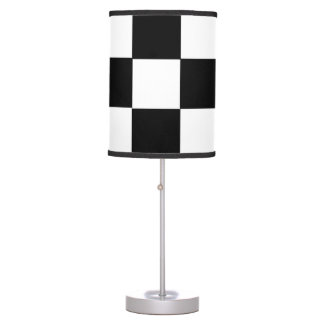 racing car flag chess square formula one desk lamps