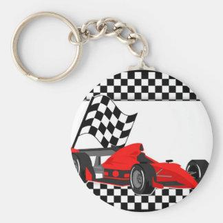 Racing Car Key Chain
