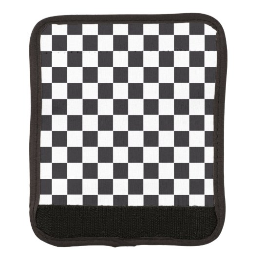 Racing Car Pattern + your background colour Luggage Handle Wrap