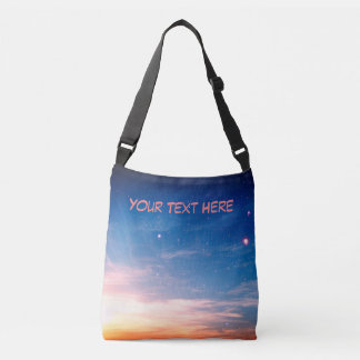 Racing Clouds Crossbody Bag