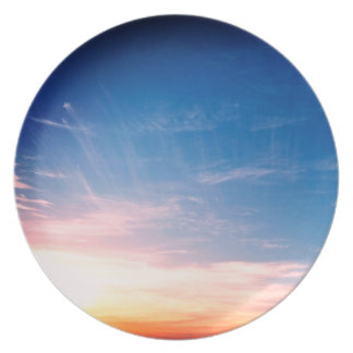 Racing Clouds Dinner Plate