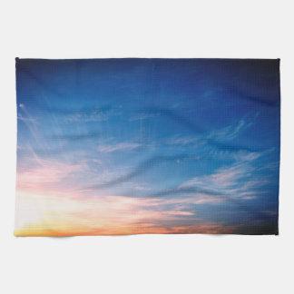 Racing Clouds Kitchen Towel