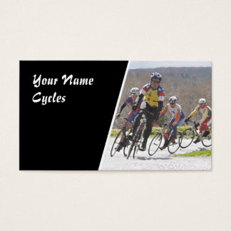 Racing cycles business card
