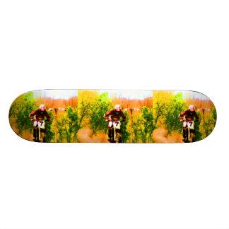 Racing Dirtbike Daredevil Skate Board