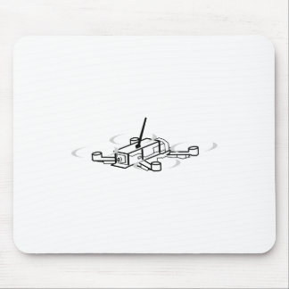 Racing Drone Quadcopter Mouse Pad