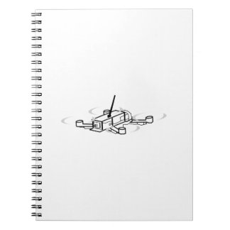 Racing Drone Quadcopter Note Books