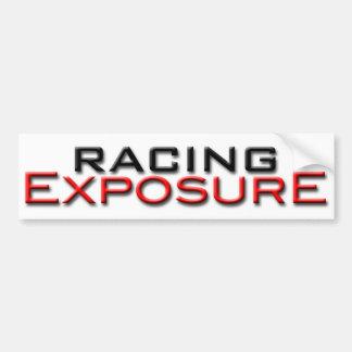 Racing Exposure exterior sticker
