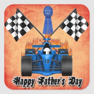 Racing Father's Day Sticker