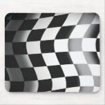 Racing Flag Mouse Pads