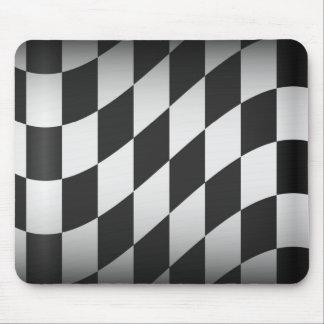 Racing Flag Mouse Pads