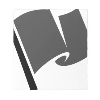 Racing Flag Notepad