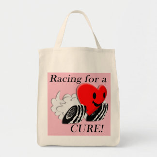 Racing for a Cure bag