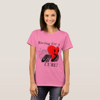 Racing for a Cure Pink T Shirt