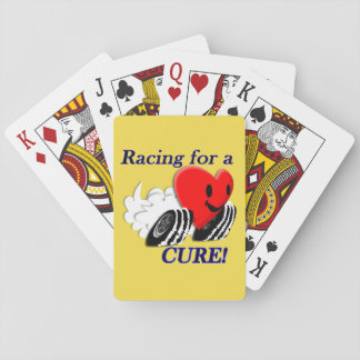 Racing for a Cure Playing Cards