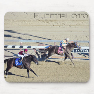 Racing from Aqueduct Mouse Pad