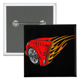 Racing Gear 2 Inch Square Button