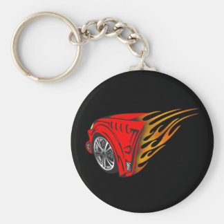 Racing Gear Keychain