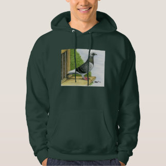 Racing Homer On the Landing Board Hoodie