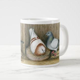 Racing Homers Home Life Large Coffee Mug
