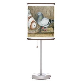 Racing Homers Home Life Table Lamp
