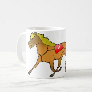Racing Horse And Buggy Mug
