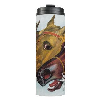 Racing Horses Tumbler