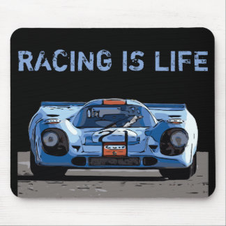 RACING IS LIFE MOUSE PAD