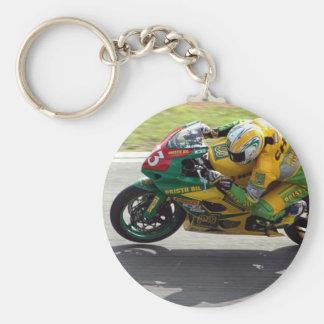 Racing Motorcycle Keychain