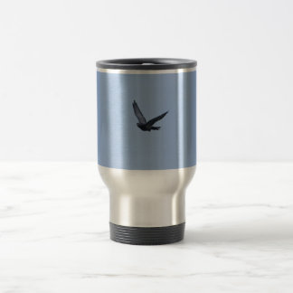 Racing Pigeon Coming Home Travel Mug