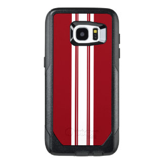 Racing Pin Stripes OtterBox Samsung Galaxy S7 Edge Case