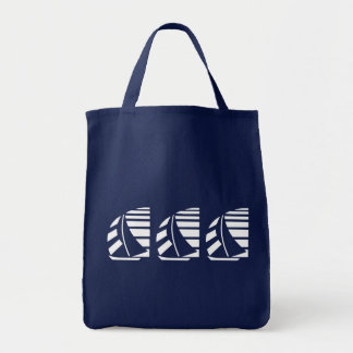 Racing Sail Boats Canvas Tote Bag