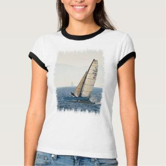 Racing Sailboat Ladies T-Shirt