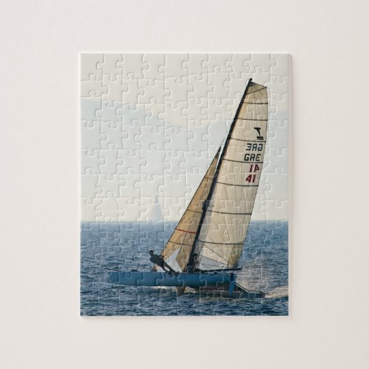 Racing Sailboat Puzzle