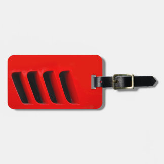 Racing Strakes Luggage Tag