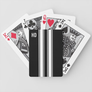 Racing Stripes Bicycle Playing Cards