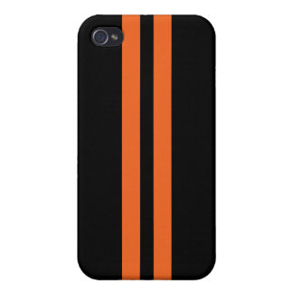Racing Stripes iPhone 4/4S Covers