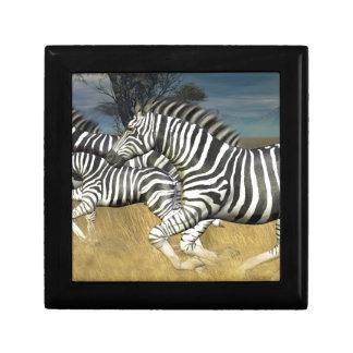 Racing Stripes - Zebra Keepsake Boxes